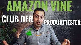 Was ist Amazon Vine - Club der Produkttester?   AMAZON FBA Bewertungen kaufen ?