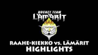 05.11.16 Raahe-Kiekko vs Lämärit HIGHLIGHTS
