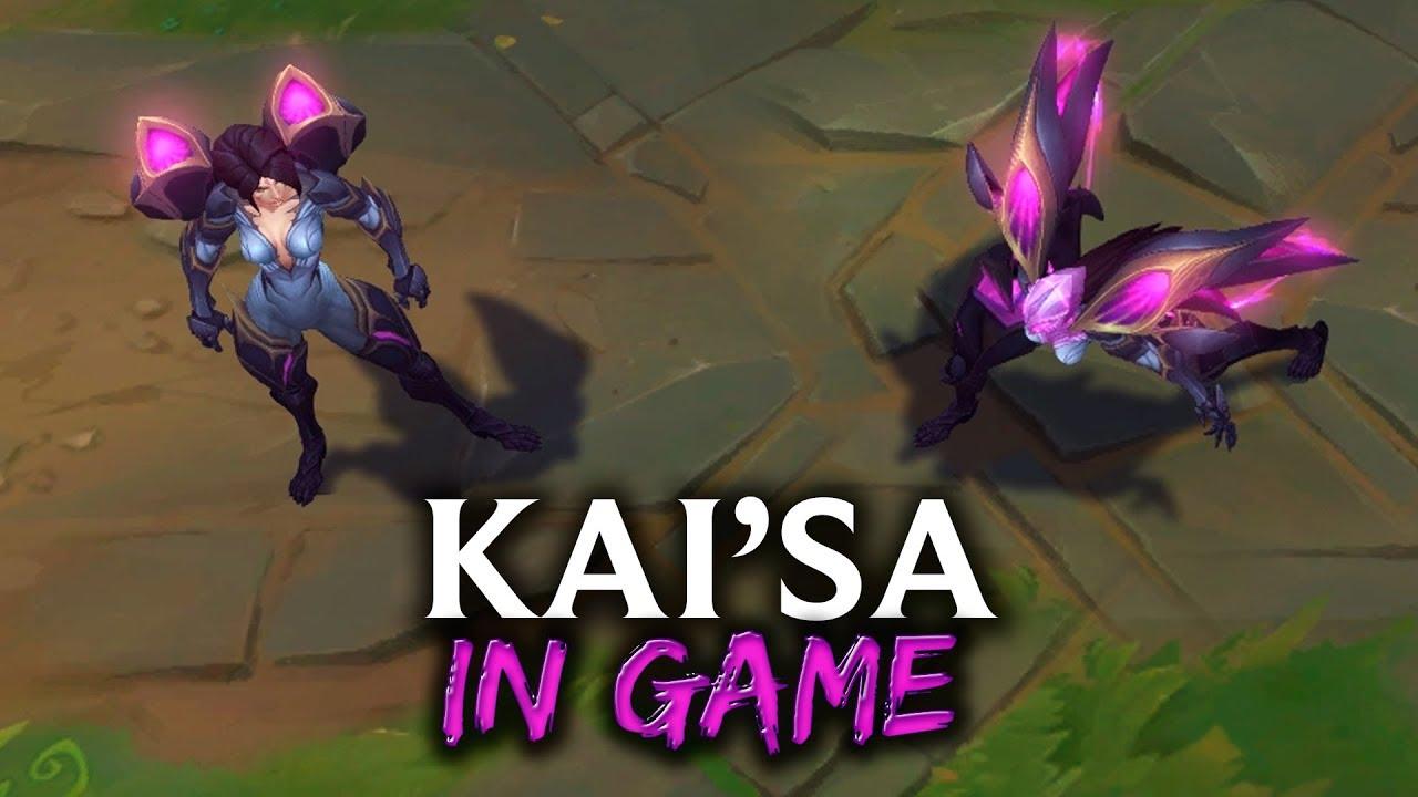 Kai'Sa in Game - Habilidades, Animaciones... - Nuevo ...