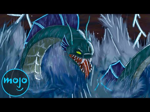 Top 10 Most Legendary Sea Monsters