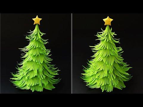 DIY Paper Christmas Tree | How to Make a 3D Christmas Tree | DIY Tutorial