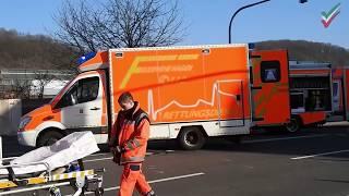 NRWspot.de | Drei Schwerverletzte bei Verkehrsunfall – Eine Person eingeklemmt