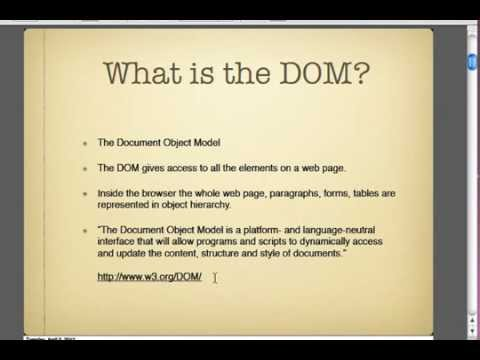 DOM Introduction