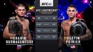 UFC БОЙ Хабиб Нурмагомедов vs Дастин Порье (com. vs com.)