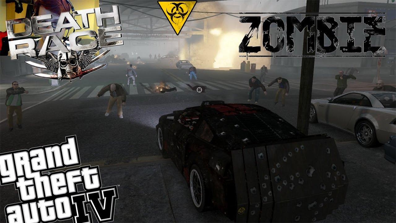 Gta Zombie Mod Death Race Mod Zombie Apocalypse Vs Death