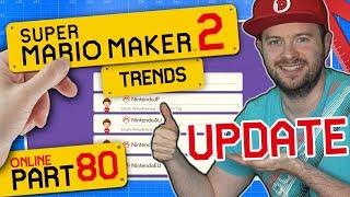 SUPER MARIO MAKER 2 ONLINE 👷 #80: Endlich Freundes-Update & Offizielle Baumeister!