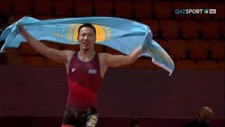 Грек-рим күресі. Азия чемпионаты. 60 кг. Айдос Сұлтанғали - жеңімпаз