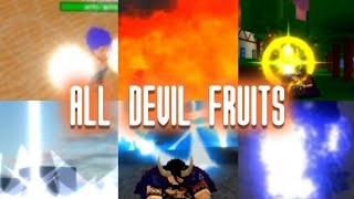SHOWCASING EVERY DEVIL FRUIT IN ONE PIECE ULTIMATE