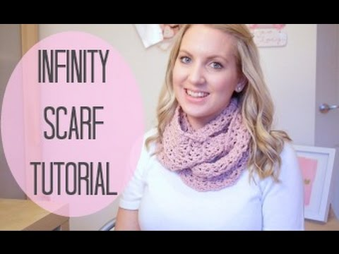 Crochet Infinity Scarf Tutorial Bella Coco Youtube