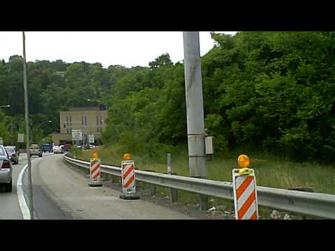 Driving through the Squirrel Hill Tunnel