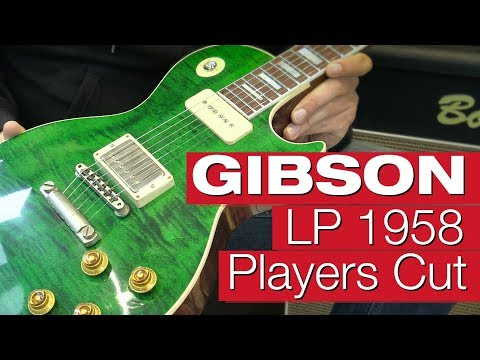 Gibson Les Paul Standard 1958 Players Cut E-Gitarren-Review von session