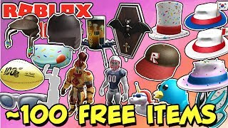 ROBLOX EVENTS, PROMO CODES, FREE ITEMS! - 100 Free Items on Catalog Right Now