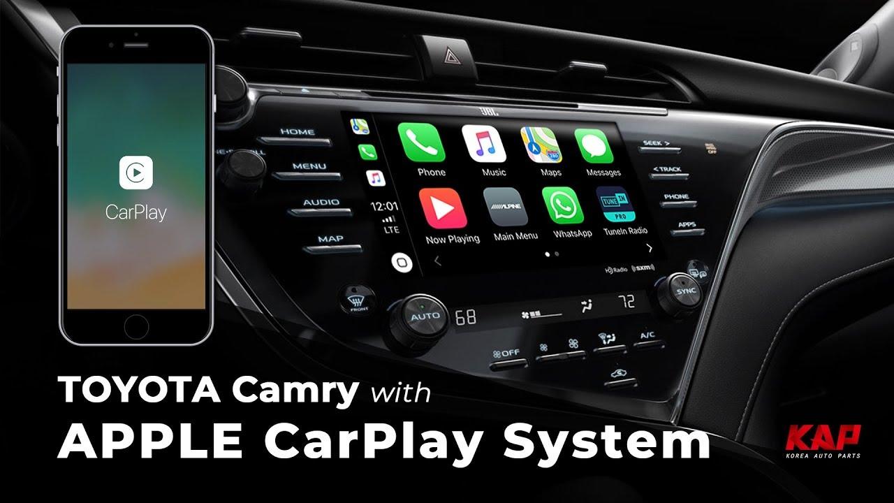 Toyota Camry 2018 2019 Le Carplay