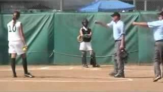 fastpitch softball dropped 3rd strike