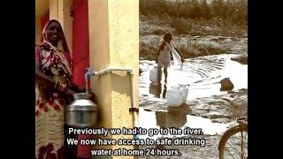 A Model Village   Water   Sanitation   Livelihoods   Wellness   Community Led Transformation
