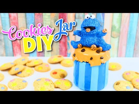 Kawaii Crafts - How to Make a DIY Cookies Jar - Cookie Monster DIYs - Isa's World