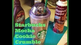 Starbucks Mocha Cookie Crumble Frappuccino **COPYCAT recipe
