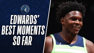 Anthony Edwards' HIGHLIGHT Moments From His Rookie Campaign So Far!