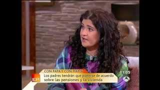Debate por la CUSTODIA COMPARTIDA, con Ana Mª Pérez del Campo y Lucía Etxebarría en contra