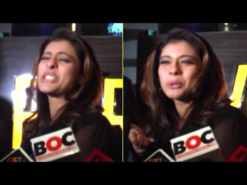 Thumbnail: Kajol's Most EMBARRASSING Moments in front of the Media