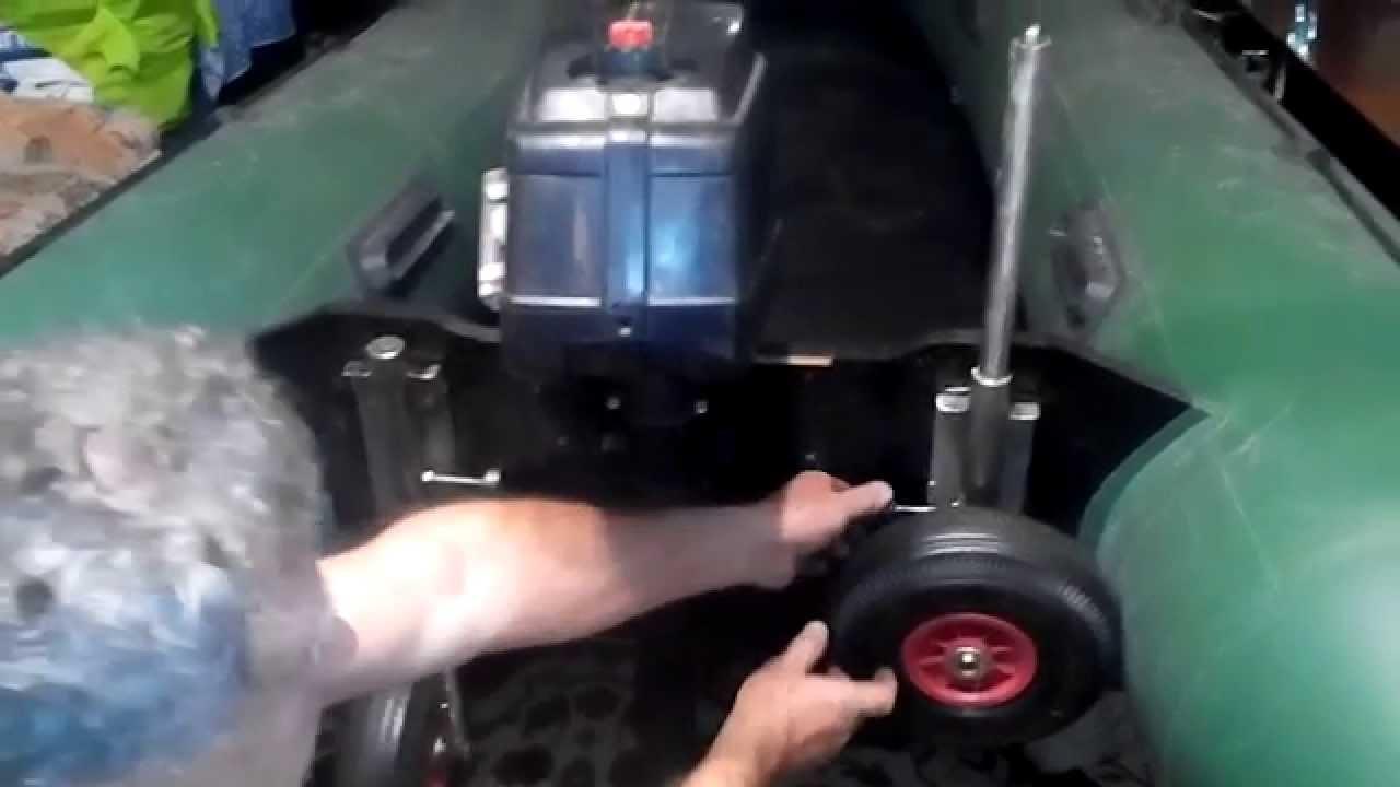 Транцевые колеса для лодок пвх своими руками: ищем 52