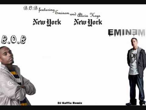 B.o.B - New York, New York (ft. Eminem and Alicia Keys) *NEW 2011*