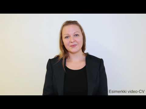 SunUra Oy / Esimerkki Video CV