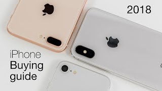 iPhone Buying Guide 2018