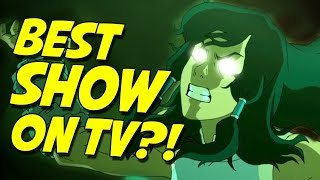 Shocking Legend of Korra Finale!!