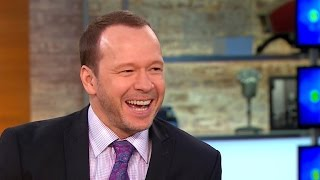 Donnie Wahlberg on Blue Bloods, band and family Video