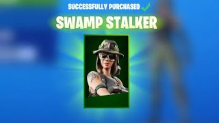 Claim the *NEW* SWAMP STALKER SKIN in Fortnite! (Fortnite Season X) !