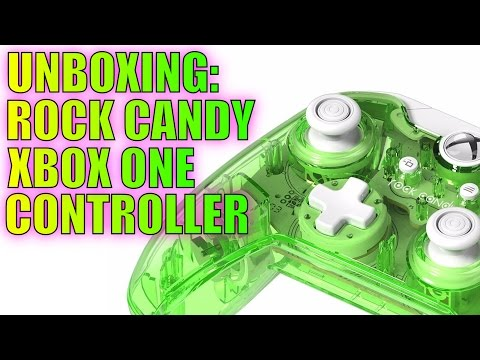 #RockCandy #XboxOne Lime Green Controller Unboxing Review