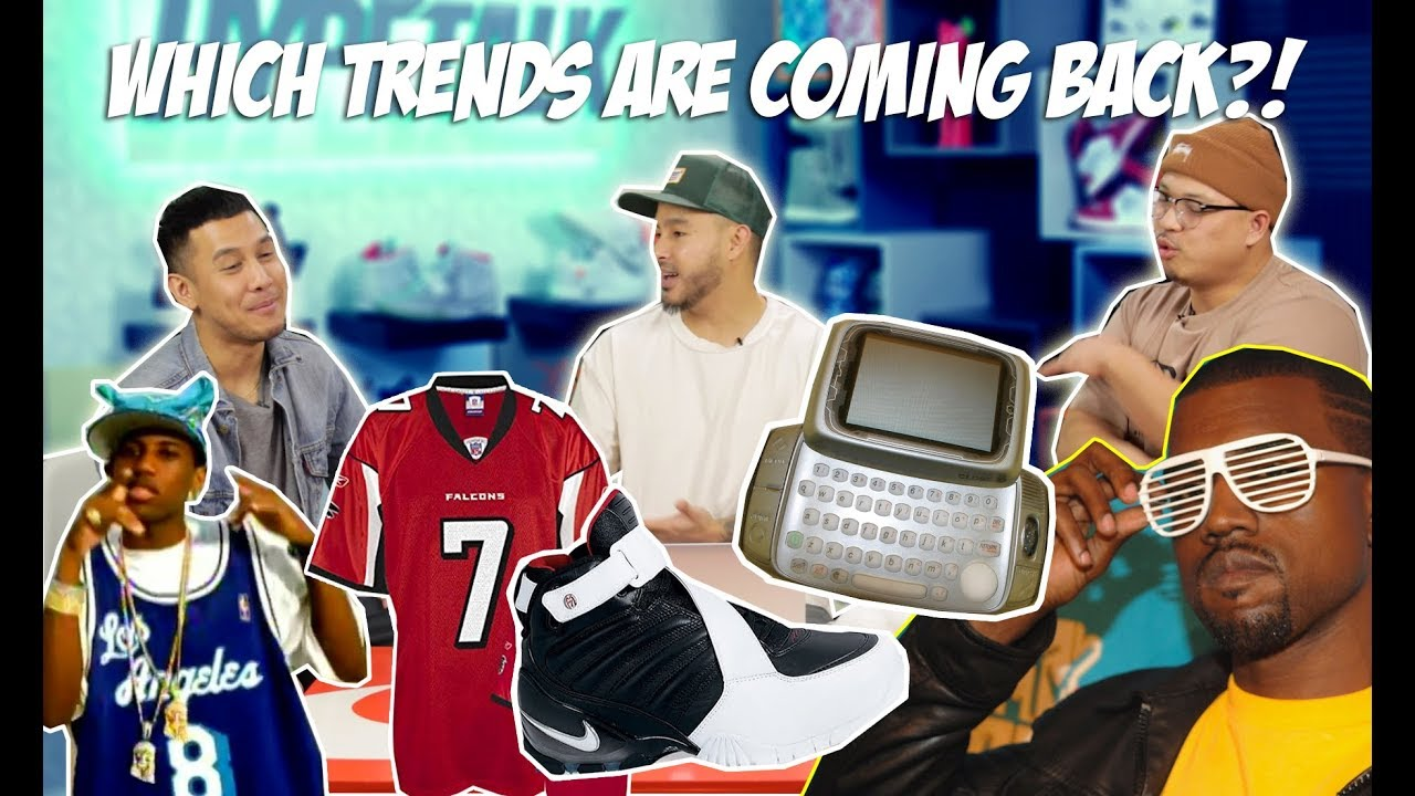 THE MOST POPULAR TRENDS OF THE EARLY 2000'S - WHICH ONES ARE MAKING A COME  BACK?!