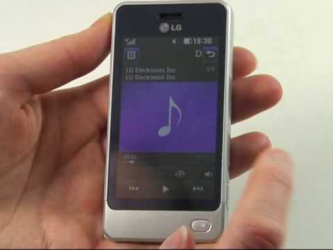 LG GD510 Pop Test Musikplayer
