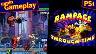 Rampage Through Time ... (PS1)