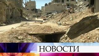 В Сирии боевики готовят провокации с использованием химического оружия.