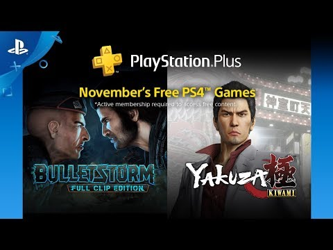 PlayStation Plus - Free Games Lineup: November 2018 | PS4