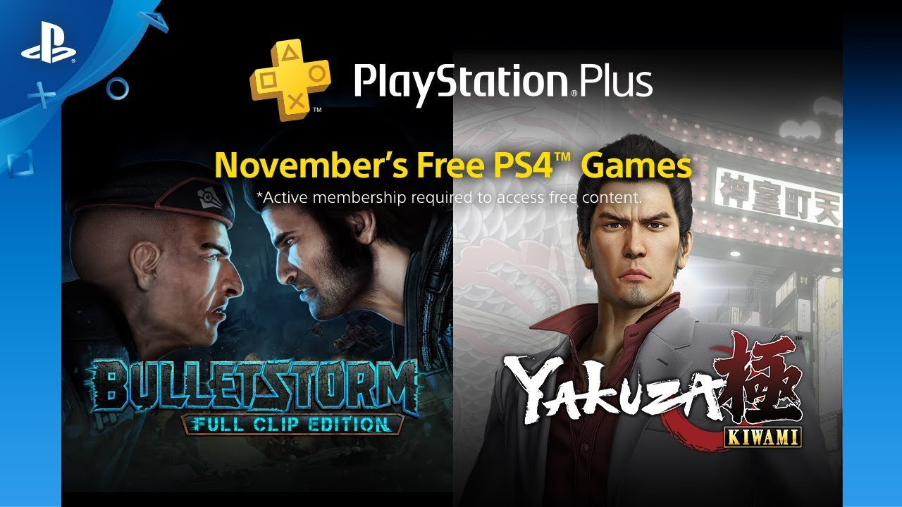 Playstation Plus Free Games Lineup November 2018 Ps4 Youtube
