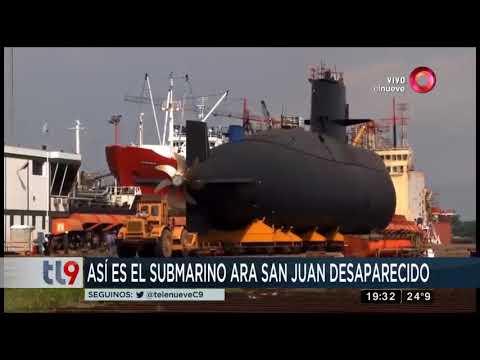 Así es el submarino