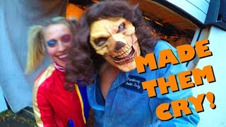 We made kids CRY! (DIY Halloween 2018)