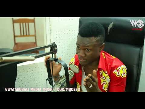 Mbosso - Watakubali Media Tour ( Moshi Fm Moshi )