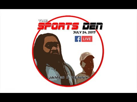 Sports Den Radio Broadcast 7-17-17 - Special Guest De'Andre Johnson