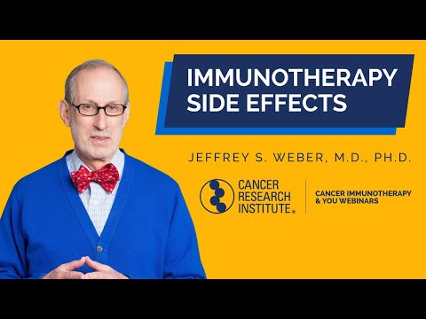 Immunotherapy Side Effects: What Patients Need to Know with Dr. Jeffery Weber