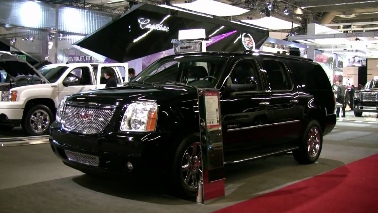 2012 GMC Yukon Denali Exterior and Interior at 2012 ...