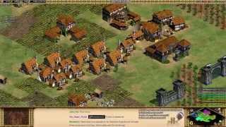 Aoe2 HD Stream: 4v4 Arena (Teutons, Teutonic Knights)