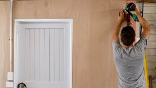 Lining Your Garage Walls With Plywood