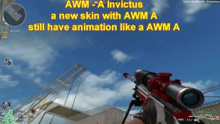 Crossfire NA 2.0: AWM-A Invictus and DE-Canadian in TDM gameplay