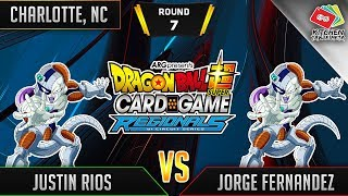 Dragon Ball Super Card Game Gameplay [DBS TCG] Charlotte Regional Round 7
