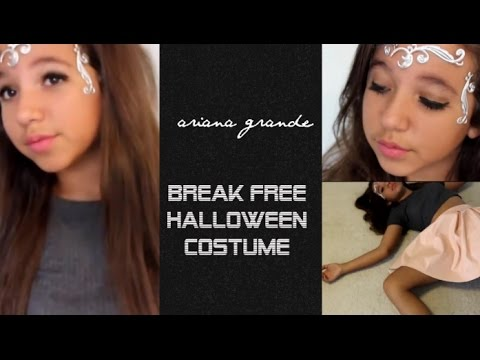diy ariana grande break free halloween costume - Free Halloween Costume