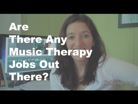 Are There Any Music Therapy Jobs Out There?